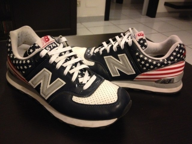 "New Balance 574 ""USA Flag"""
