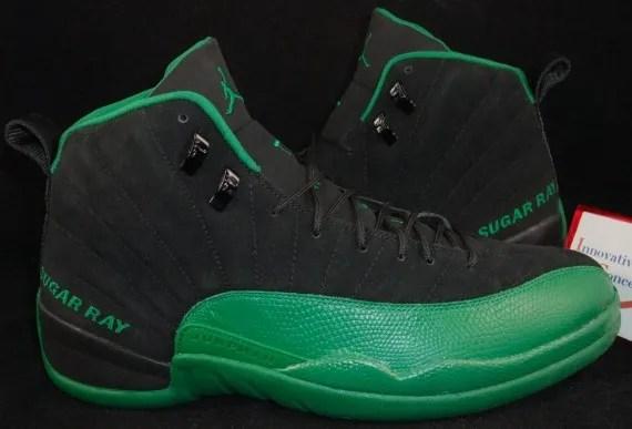Ray Allen Jordan PEs: Air Jordan 12 Boston Celtics Away Player Exclusive