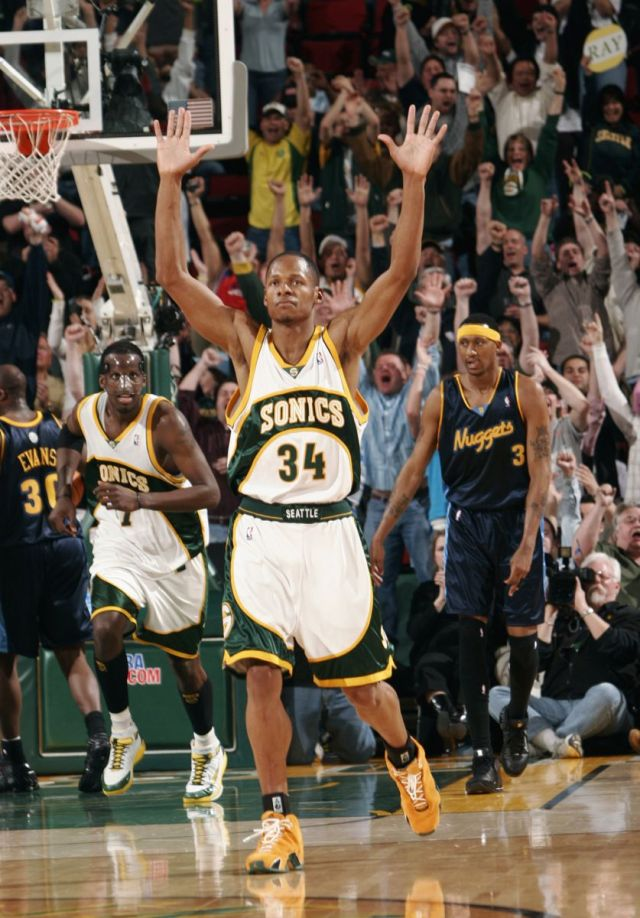 Ray Allen Jordan PEs: Air Jordan 21 Yellow Suede Player Exclusive