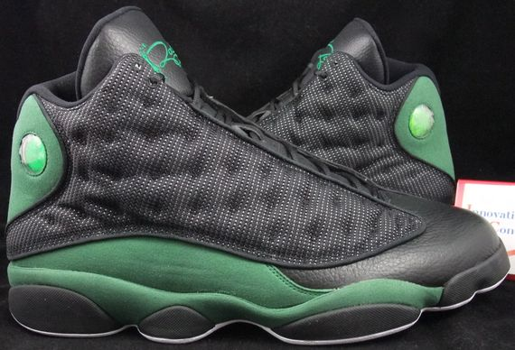 Ray Allen Jordan PEs: Air Jordan 13 Boston Celtics Player Exclusive