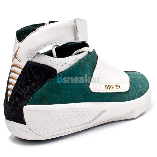 Ray Allen Jordan PEs: Air Jordan XX Seattle Sonics Player Exclusive