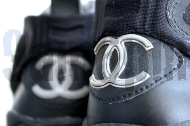 fdea1927 Pin It · Chanel x Reebok Insta Pump Fury Black Lambskin 2005 1 of 5 Made