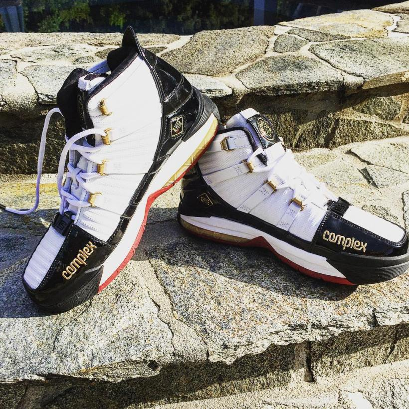 Nike LeBron III x Complex by @pevault