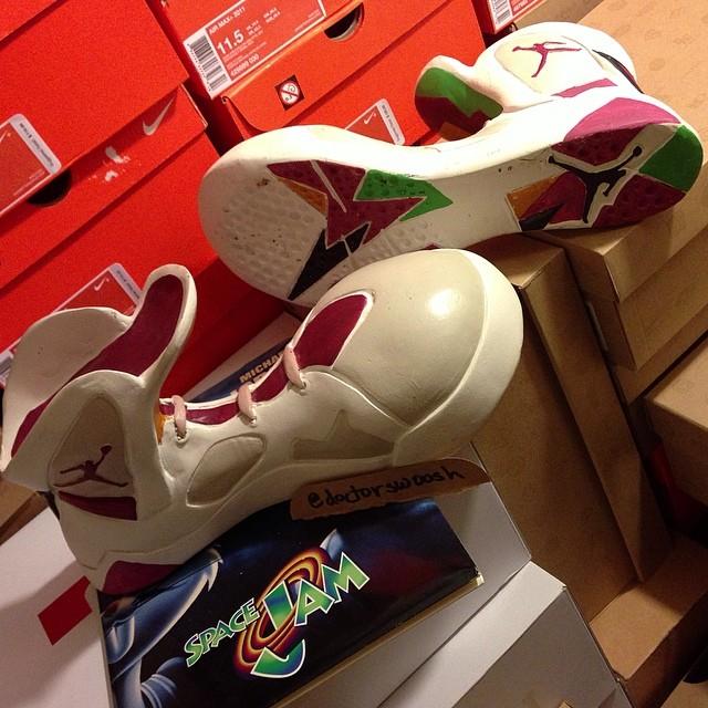 Hare Jordan 7 by @doctorswoosh