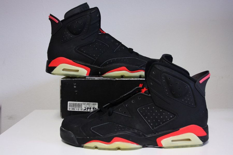 purchase cheap 7228c 9d1f3 What is Durabuck material  air jordan 6 infrared history