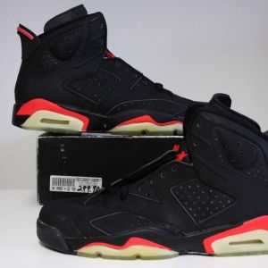 Original Air Jordan 6 from 1991 (Durabuck)