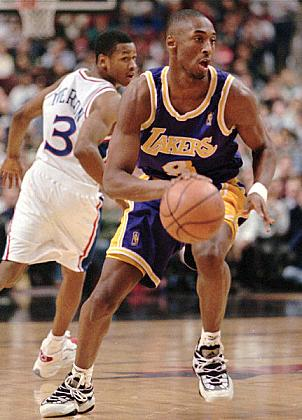 Kobe Bryant circa '96 - Adidas EQT Top Ten - Imagevia AP PHOTO