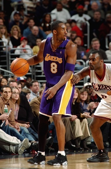 Kobe Bryant Wearing Air Jordan Retro VI Low - Image via Kenlu