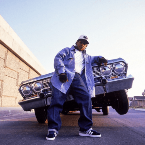Straight Outta Compton: NWA's Sneaker Legacy - Eazy-E Wearing the adidas Campus