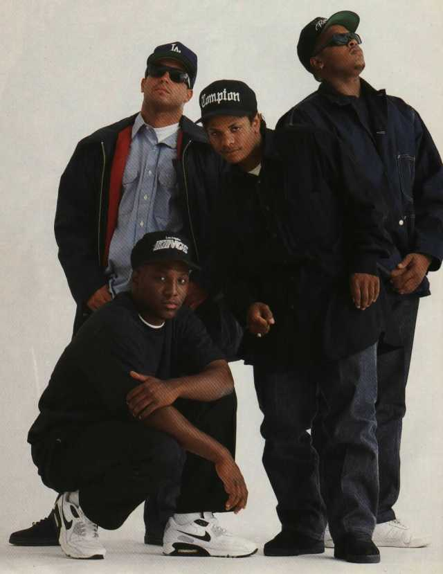 Straight Outta Compton: NWA's Sneaker Legacy - MC Ren Wearing the Nike Air Max 90
