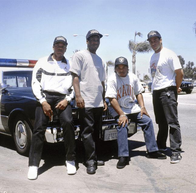 Straight Outta Compton: NWA's Sneaker Legacy - Yella Wearing the Reebok Reverse Jam