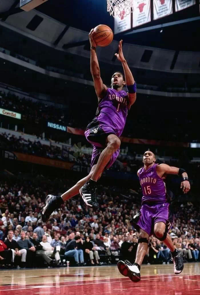 Tracy McGrady in the adidas Bromium II