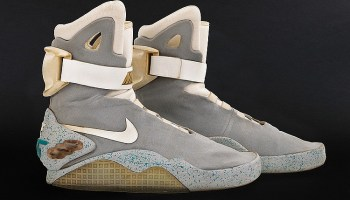 Marty McFly's Nike Sneakers From Back To The Future II