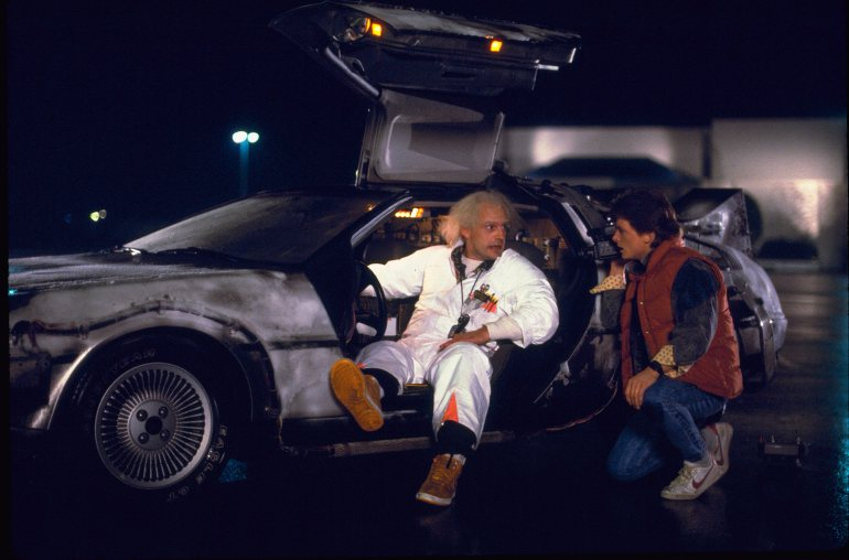 Marty McFly in Nike Bruin