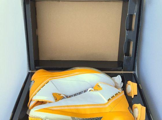 Jordan 22 Ray Allen Sonics Yellow/Green Player Exclusive For Sale