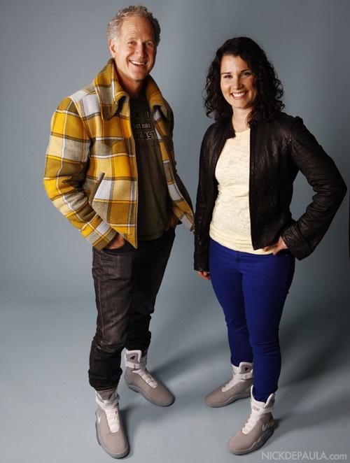Tinker Hatfield and Tiffany Beers in Nike Mag photo via NickDePaula