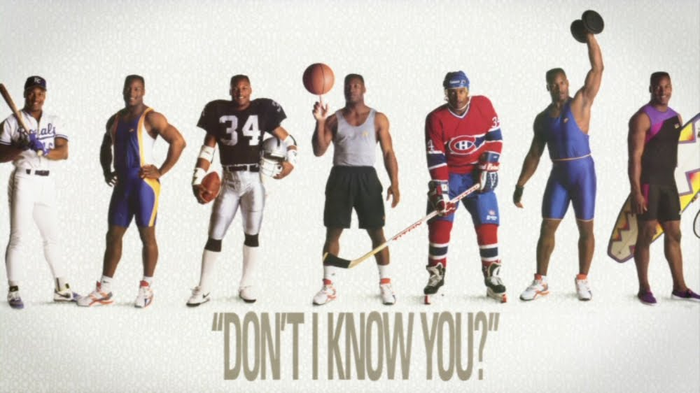 Bo Jackson Nike Dont I Know You Poster
