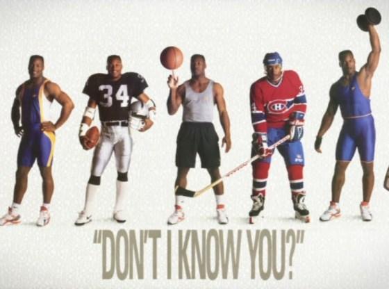 Bo Jackson Nike Dont I Know You Poster