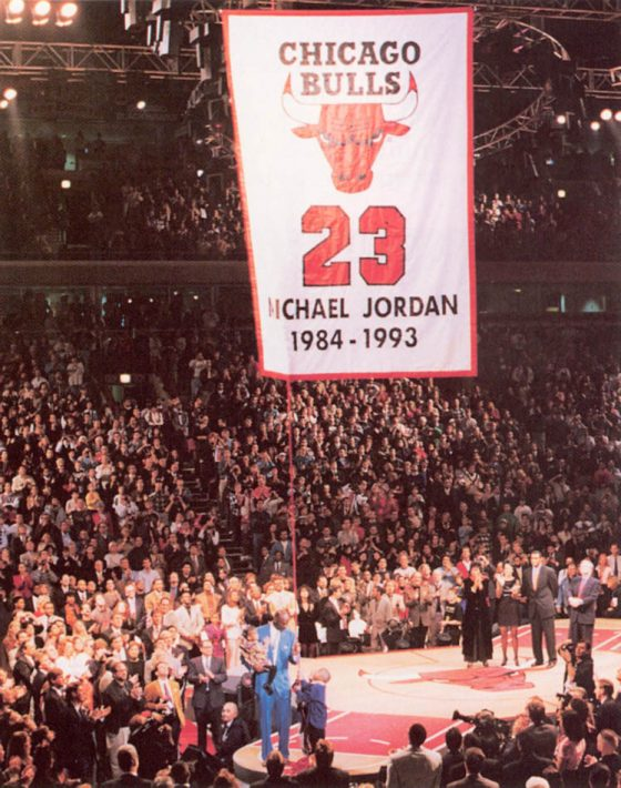 Michael Jordan Retires, November 1st, 1994