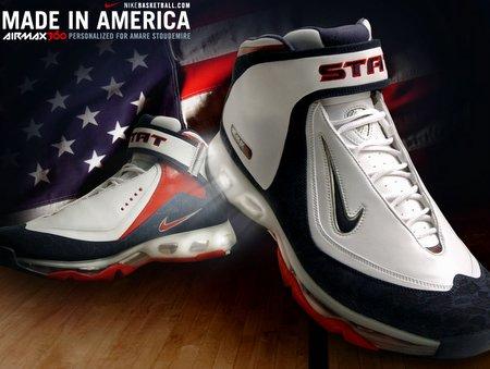 "Nike Air Max 360 Basketball ""USA"" P.E."