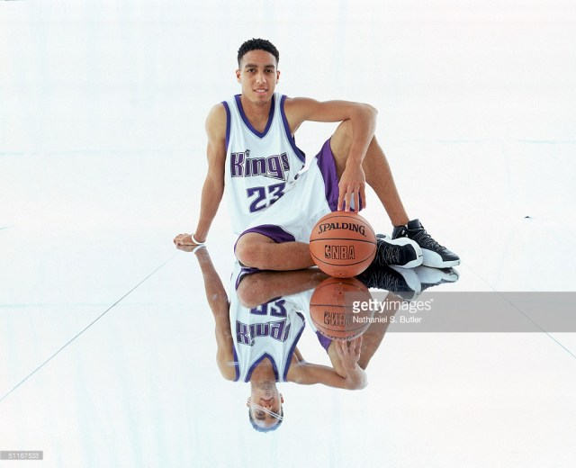 Kevin Martin in Air Jordan 12 Rookie Shoot