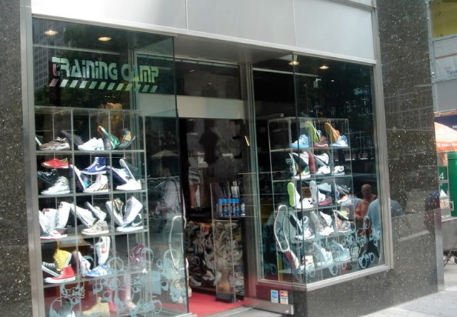 Training Camp Sneaker Store NYC