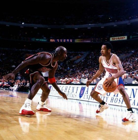 Michael Jordan versus Allen Iverson