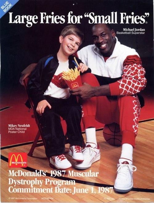 McDonald's Michael Jordan 1987