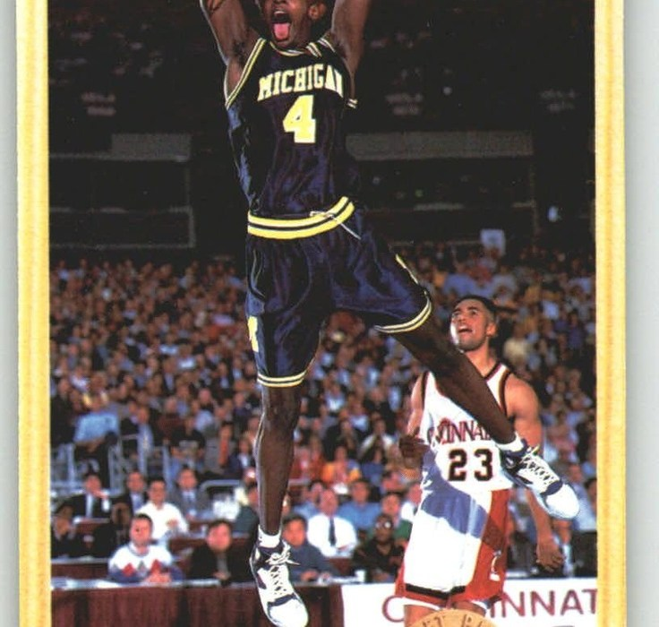 Chris Webber Becomes the 1993-94 Rookie of the Year