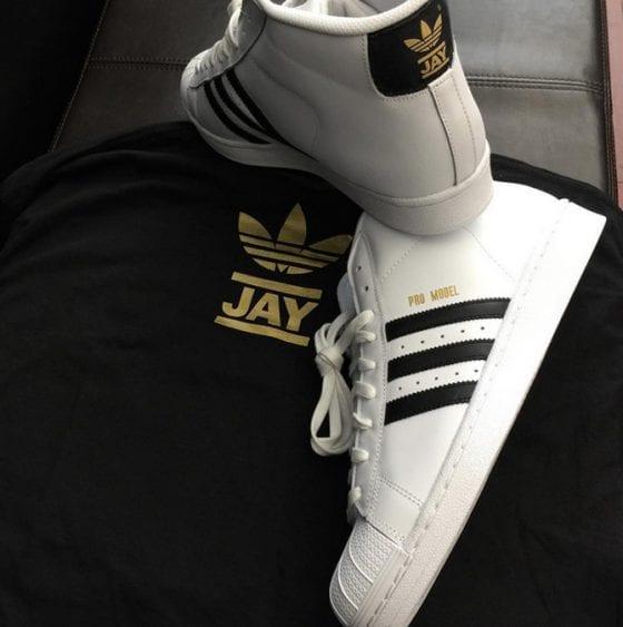 Jam Master Jay x adidas Pro Model