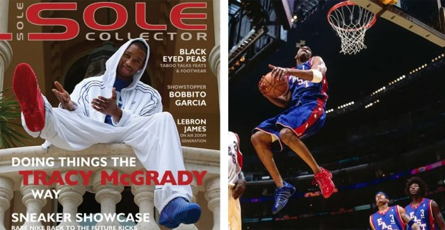 T-Mac on the Cover of Sole Collector Magazine