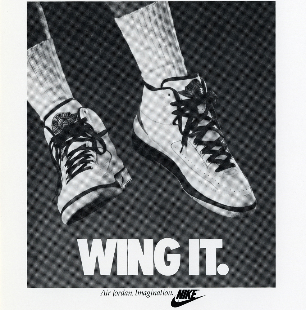 Air Jordan 2 Wing It Original Poster