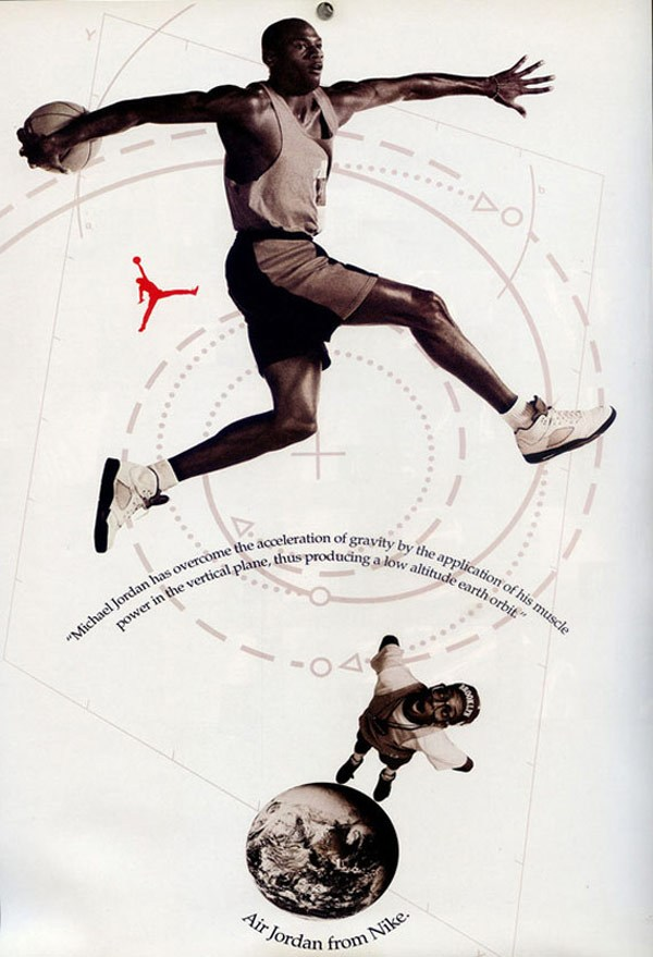 Out of This World - Spike Lee Michael Jordan Poster