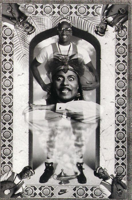 Little Richard and Michael Jordan Poster