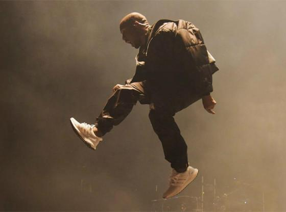 Kanye West in the adidas Ultra Boost