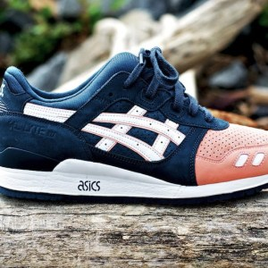 ASICS Salmon Toe by Ronnie FIeg