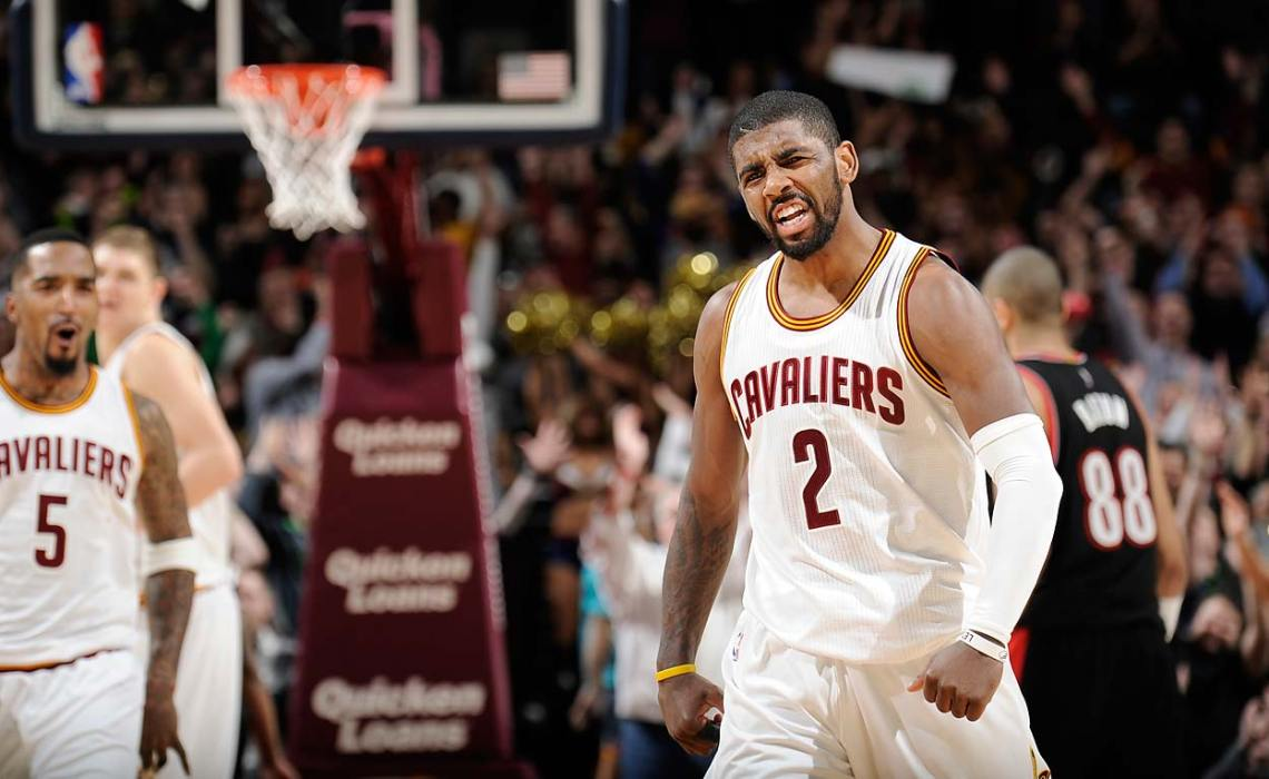 TISH: Kyrie's Double-Nickel