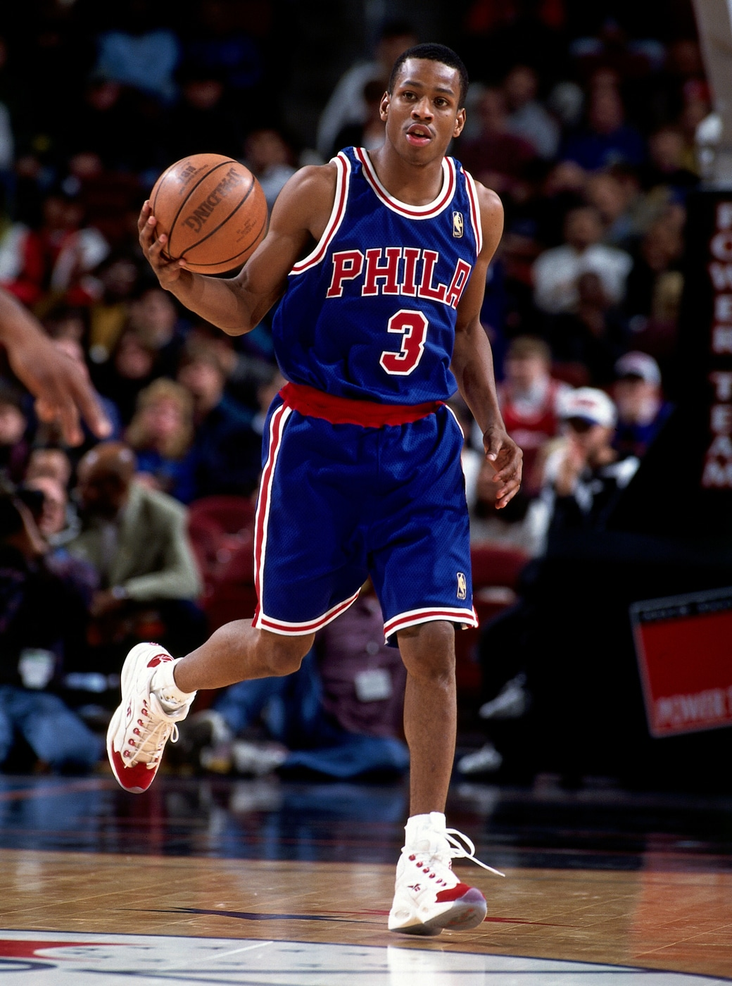 Reebok Question on-court