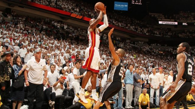Ray Allen's Clutch 3-Pointer