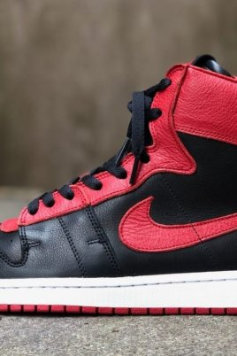 Nike Air Ship Retro Black/Red Custom