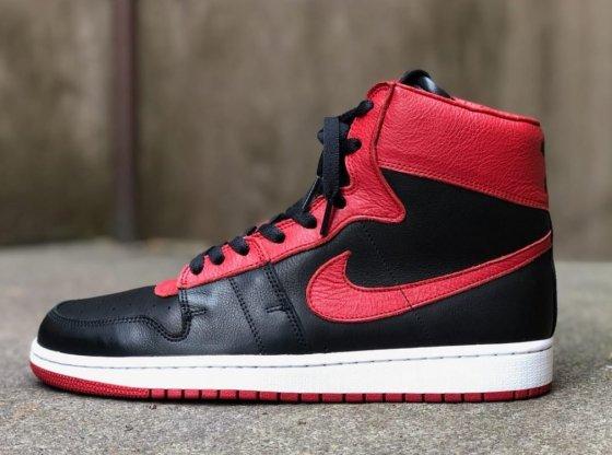 Nike Air Ship Retro Black/Red Custom