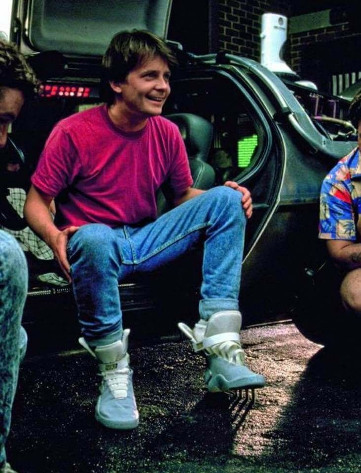 Nike MAG - Back To The Future 2 Michael J. Fox Behind The Scenes
