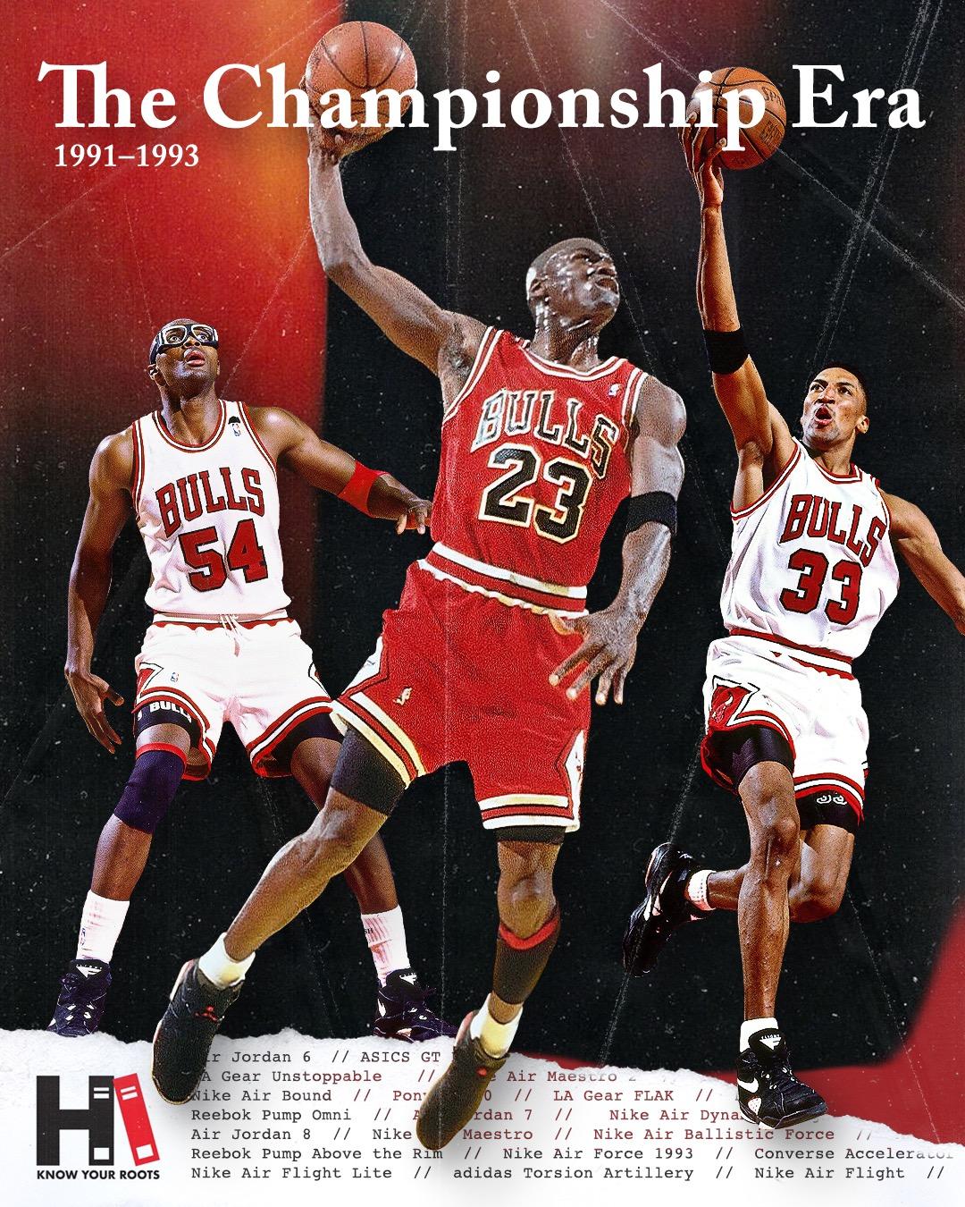 Championship-Era Chicago Bulls Sneakers