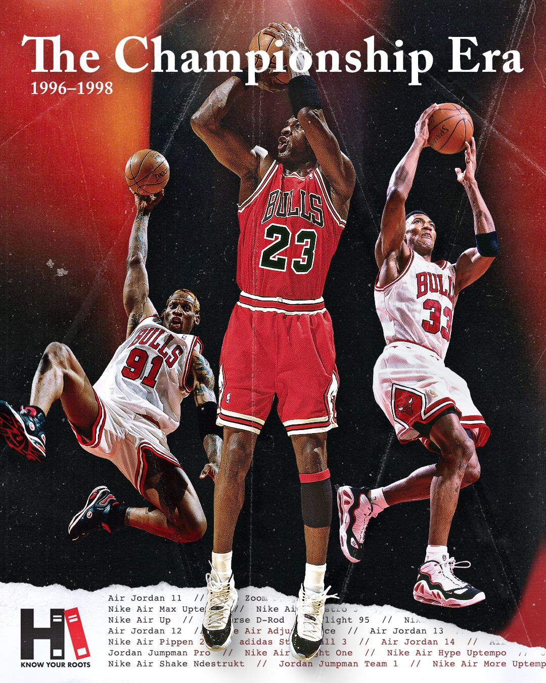 The Championship Era Bulls Sneakers