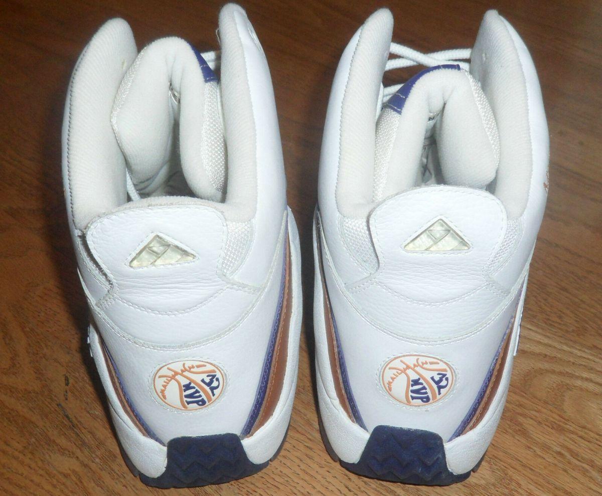 Notice the MVP logo on the heel.
