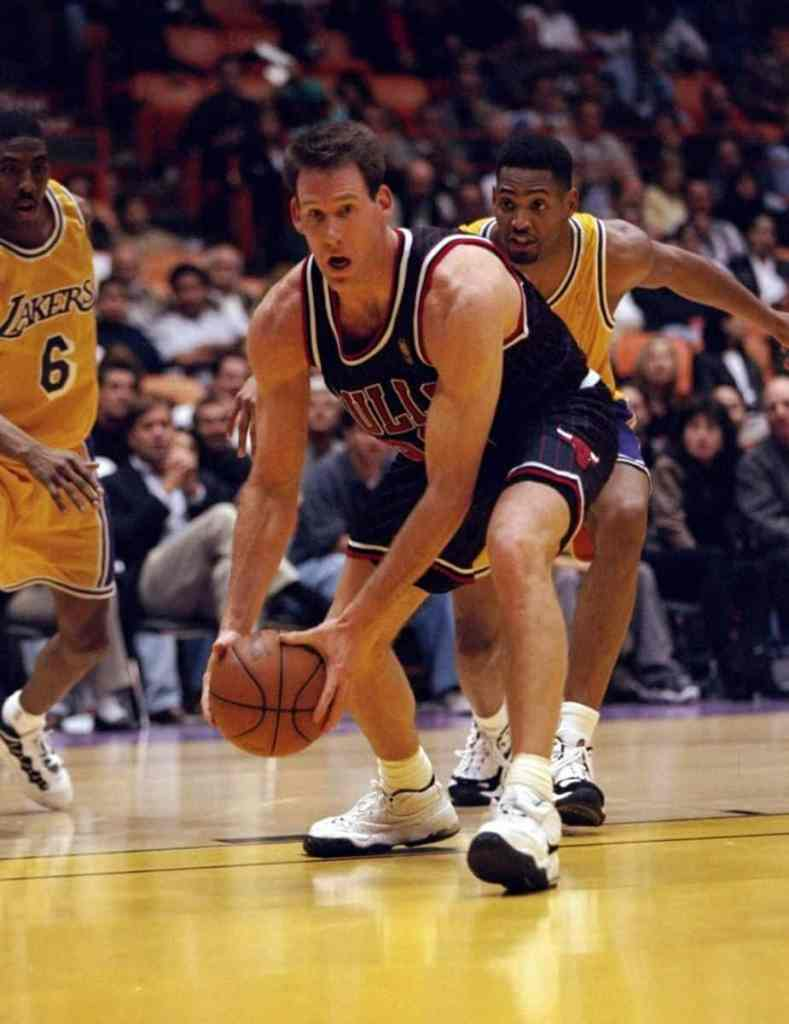 Jud Buechler in the Nike Air Adjust Force