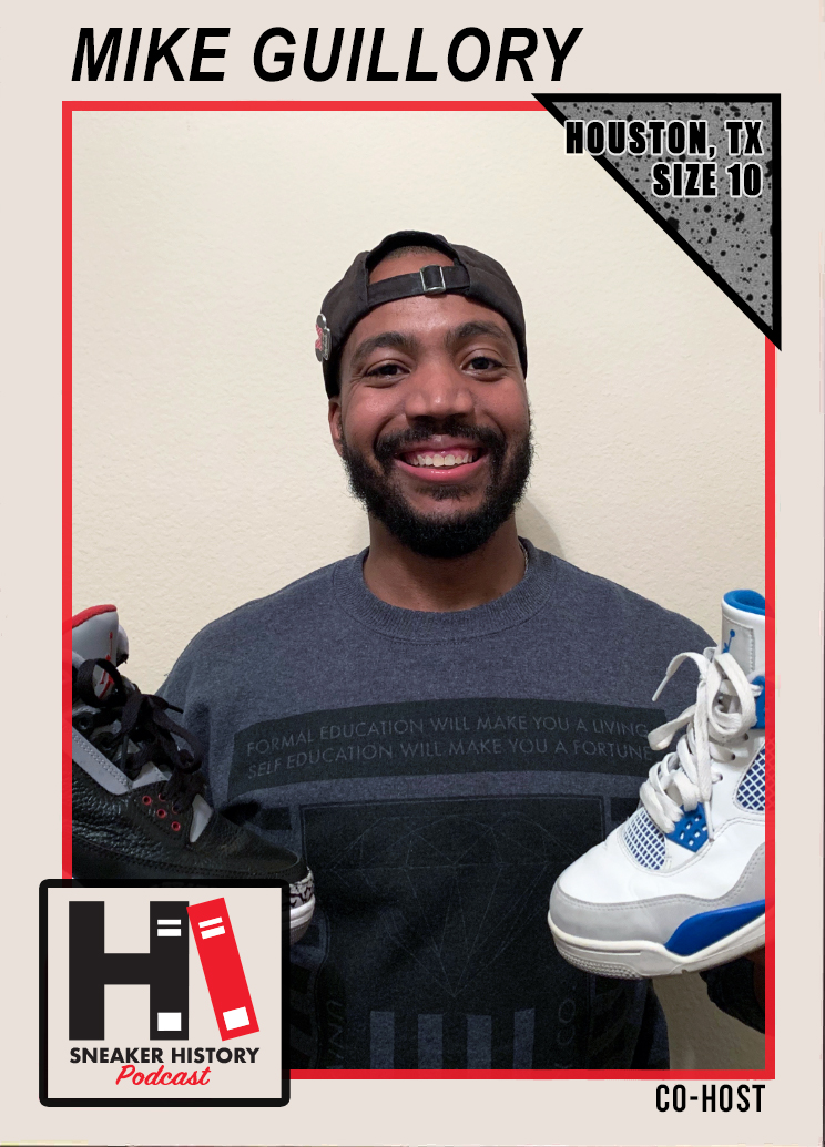 Mike Guillory, Sneaker History Podcast
