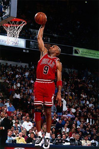 Ron Harper in the Nike Air Movin Uptmepo