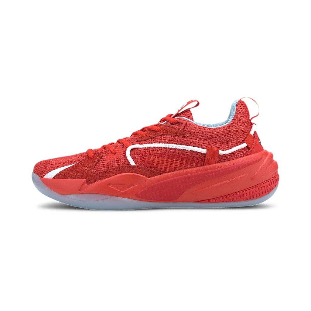 PUMA basketball shoe.