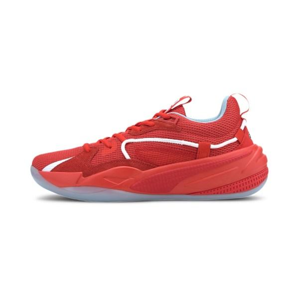 PUMA basketball shoe.